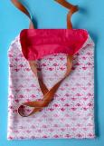 Easy 15 minute tote bag pattern & tutorial - free