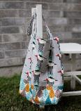 Easy tote bag pattern & tutorial - free & quick to make